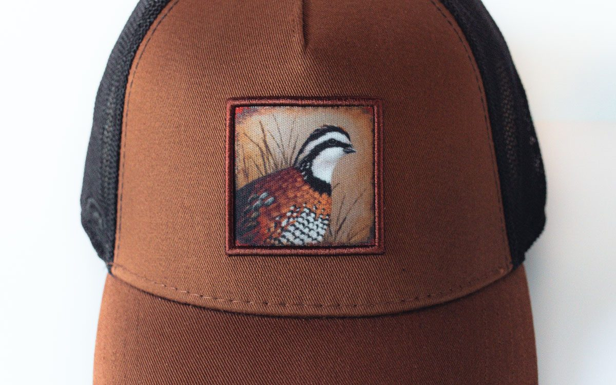 brown-black-quail-cap-front-zoomed-gallery-image
