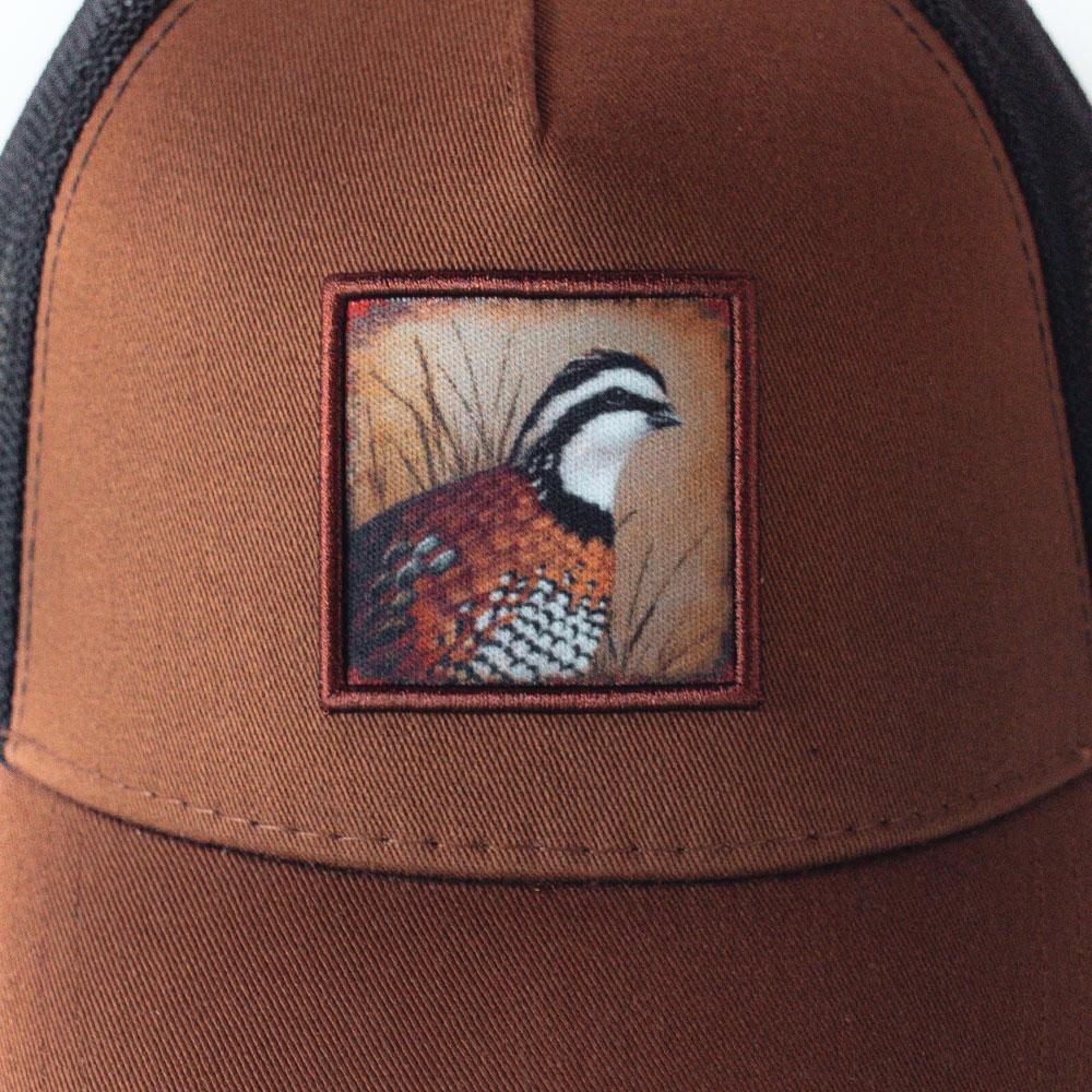 brown-black-quail-cap-product-image zoom
