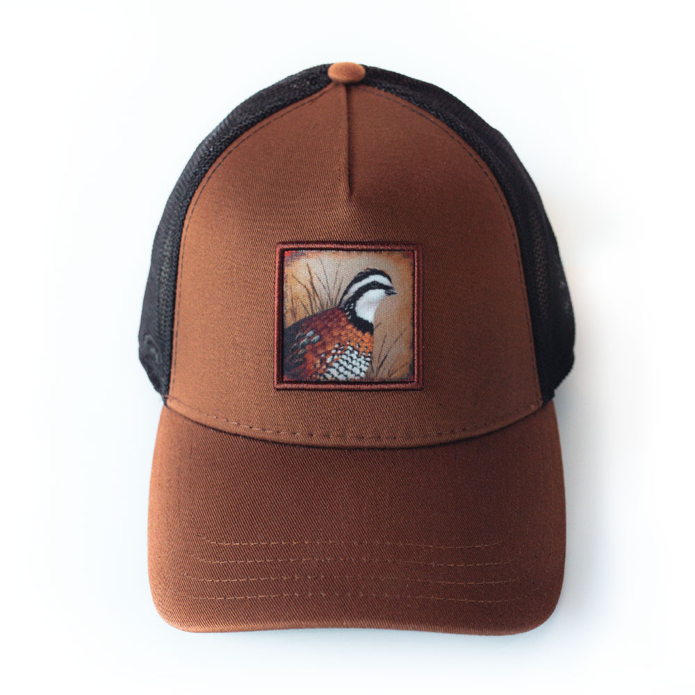 """Quail"" Cap (Brown/Black)"