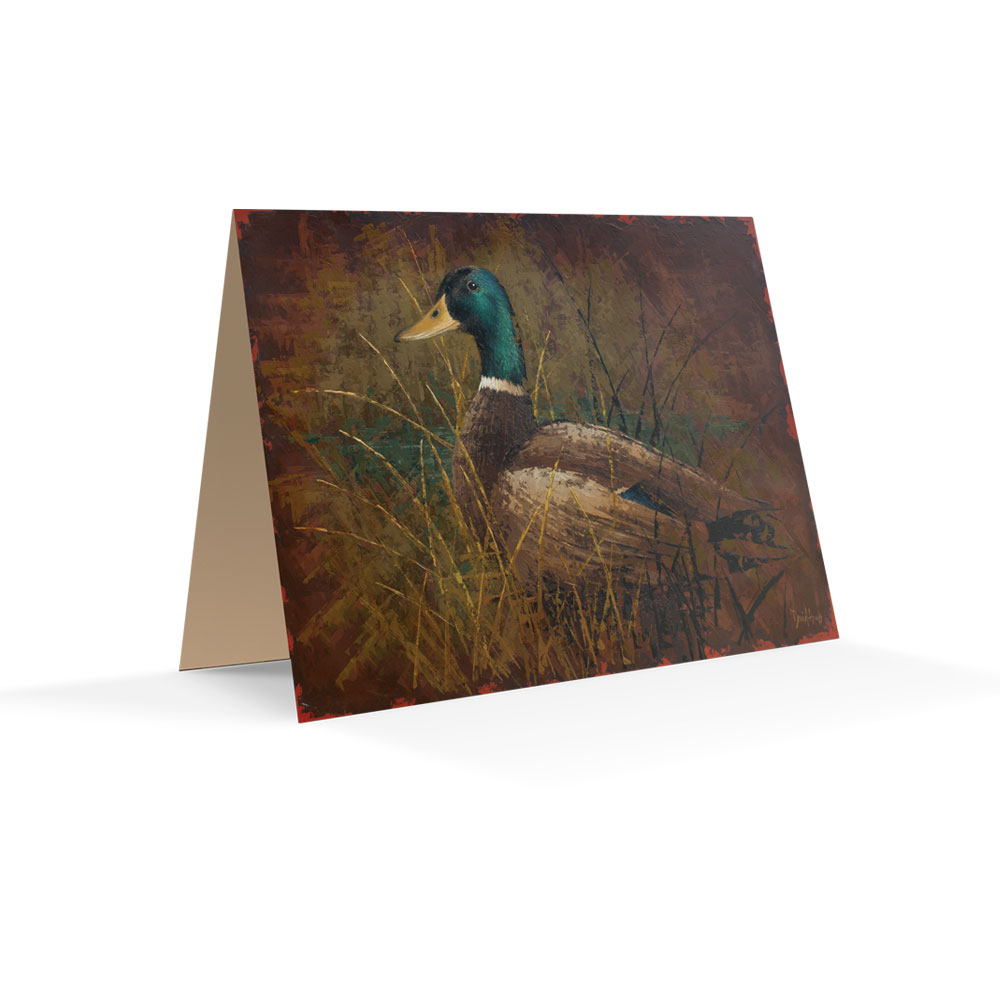 """Mallard"" Notecards"