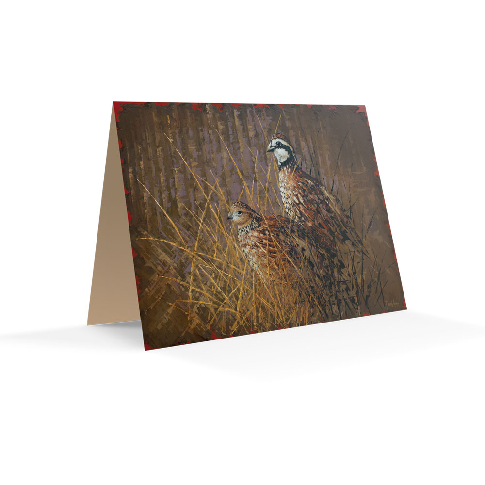 """Bobwhite"" Notecards"