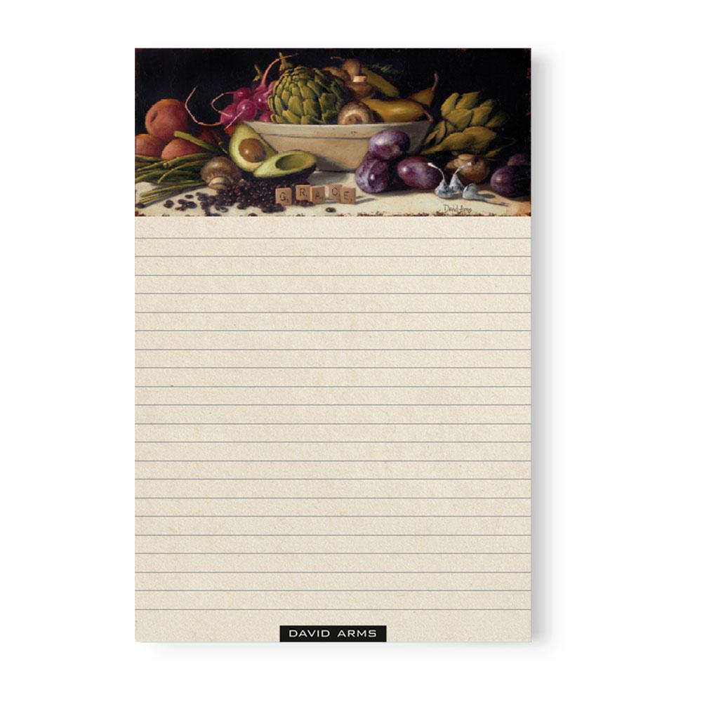 """Abundance"" Notepad"