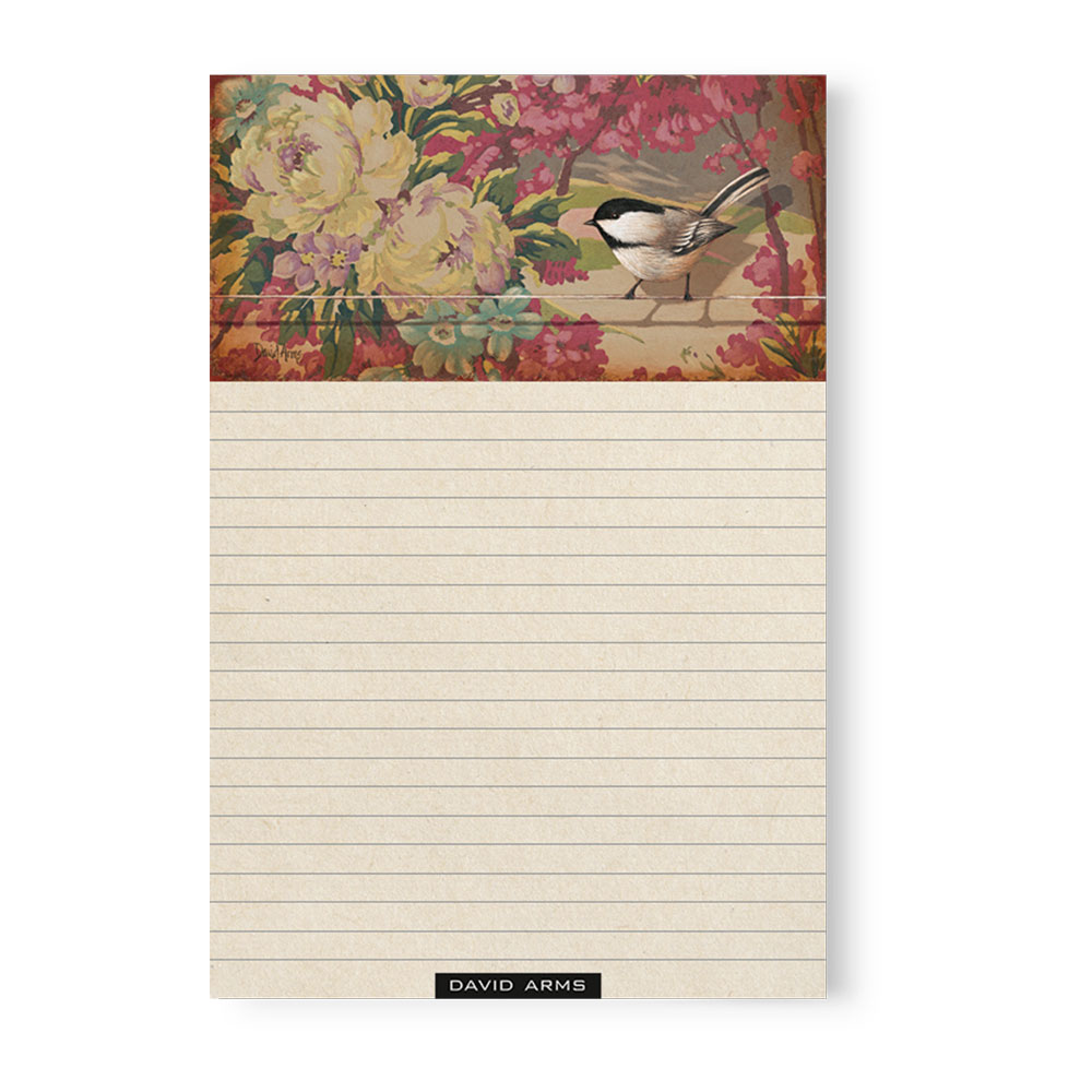 """Trust"" (floral) Notepad"