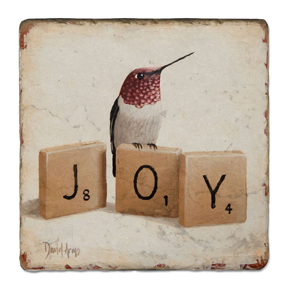 """Joy"" (scrabble) Trivet"