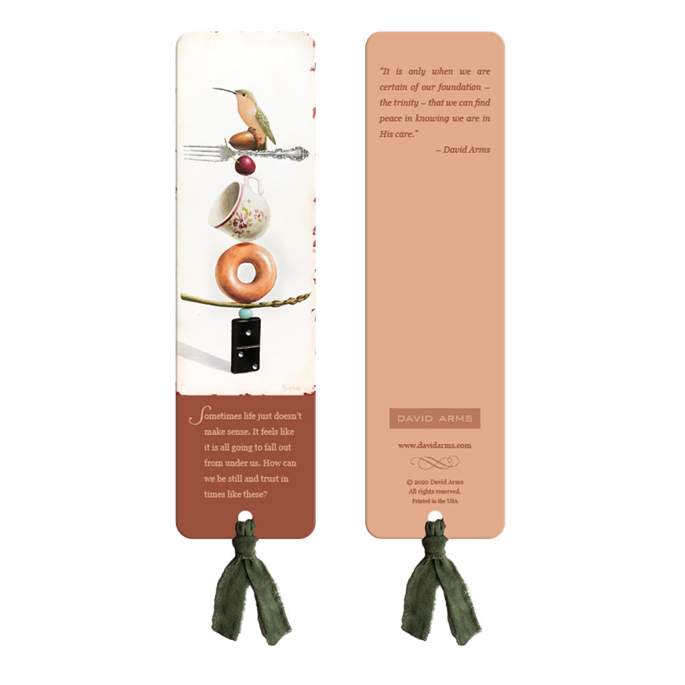 """Fear Not"" (Donut) Bookmark"