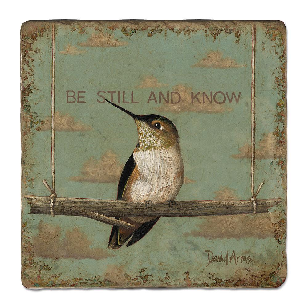 """""""Be Still & Know"""" Trivet"""