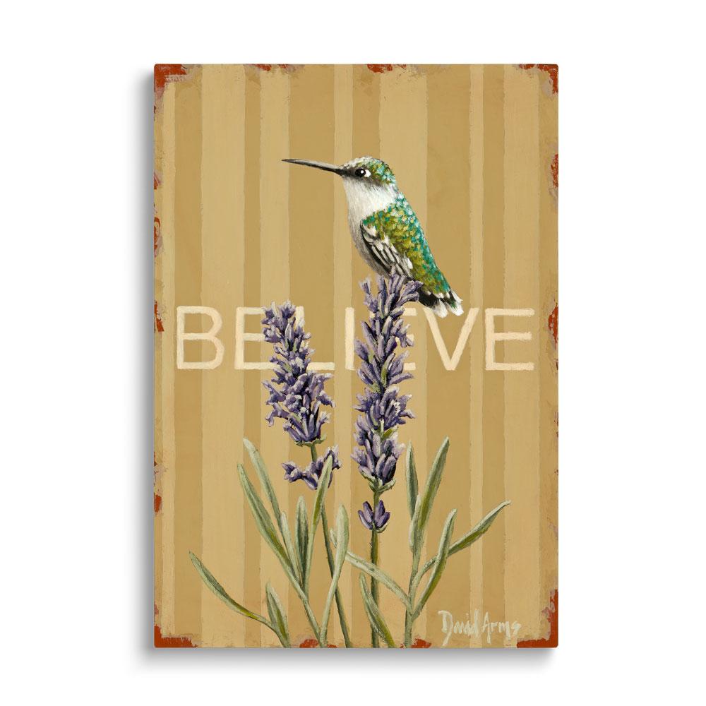 """""""Believe"""" (Lavender) Gicleé"""