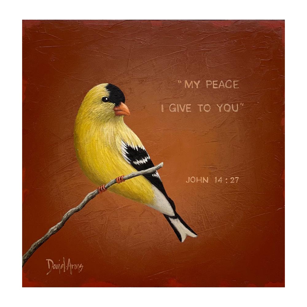 Peace I Give • 13x13