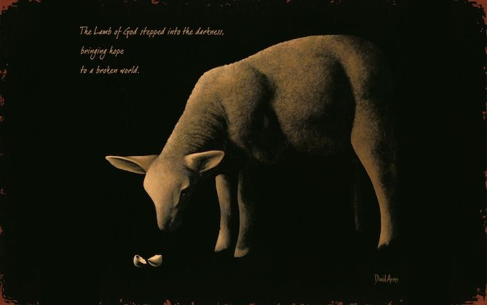Behold The Lamb Wallpaper