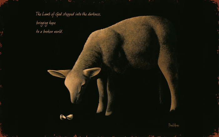 Behold The Lamb Wallpaper X700