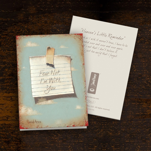 Heaven's Little Reminder Notecards