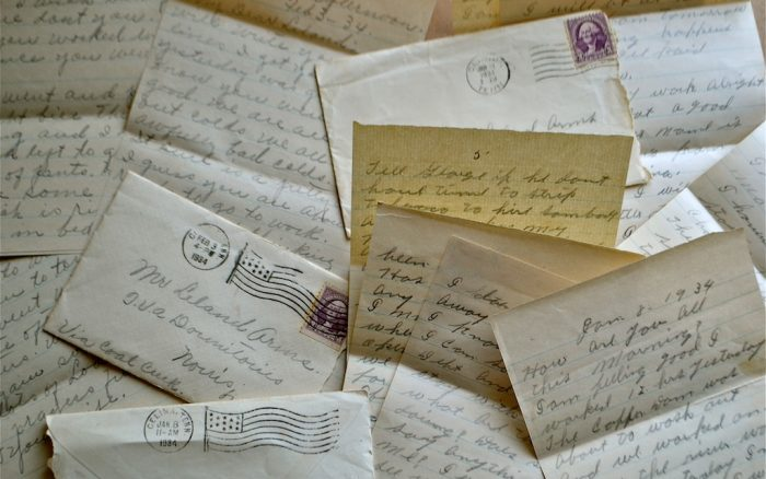 Letters From 1934