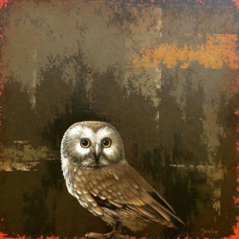 Owl • 36x36