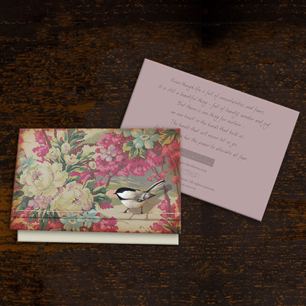 Trust (Floral) Notecards