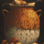 Vessell With Fruit • 24×48